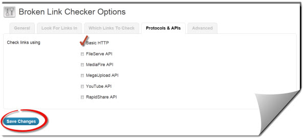 Protocols & APIs Tab image