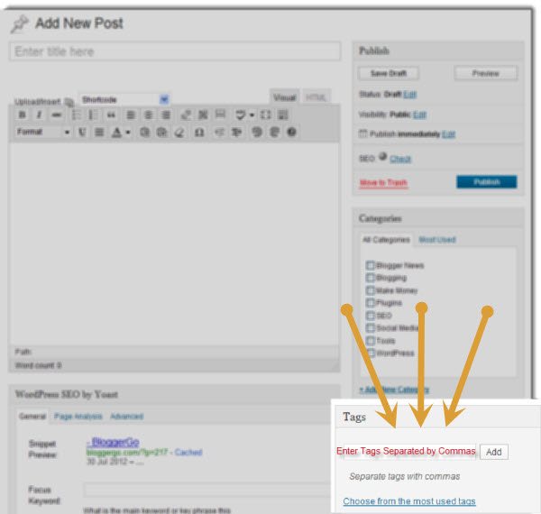 How to Tag a Post image