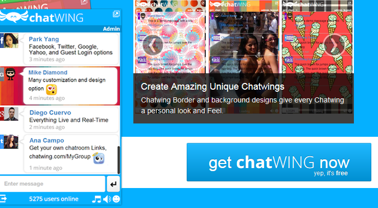 A new chatting tool for your blog
